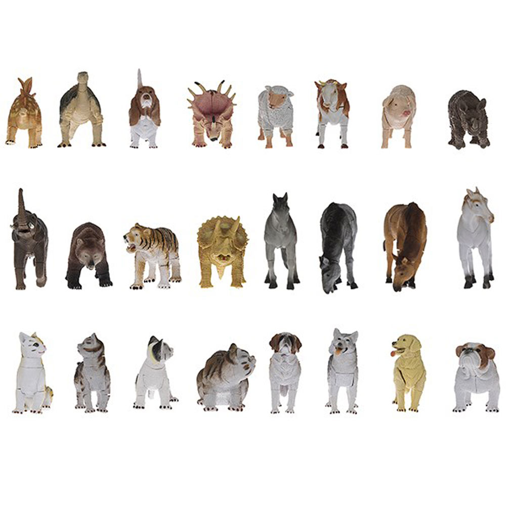 Animals Pack Of 25 Size XSmall Building 1000